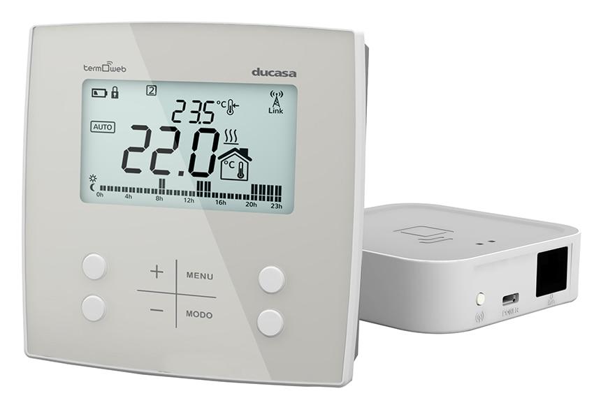 Termostato inteligente ducasa control 3g wifi caldera ref for Termostato leroy merlin