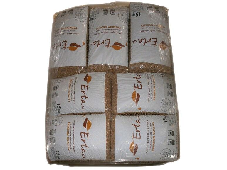 70 sacos de pellets 15 kg ertasa pellets 15 kg certificado - Sacos de pellets ...