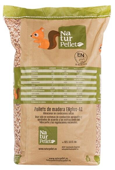 Saco de pellets naturpellet 15 kg ref 17868151 leroy merlin - Pellets bricomart ...