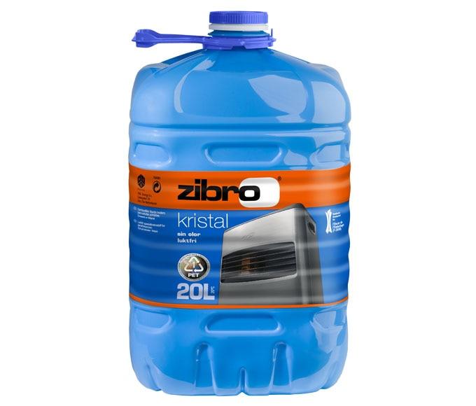 Combustible parafina zibro kristal ref 11397645 leroy - Estufas de parafina leroy merlin ...