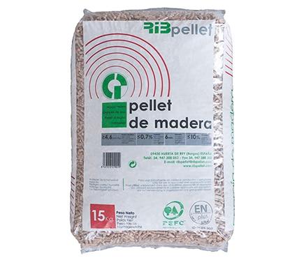 Saco de pellets ribpellet 15 kg ref 16522513 leroy merlin - Sacos de pellets ...