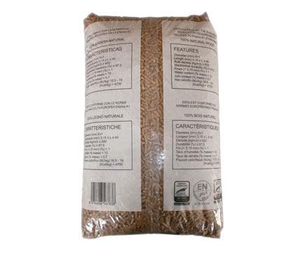 Saco de pellets ertasa certificado 15 kg ref 17287991 - Pellets precio kilo ...