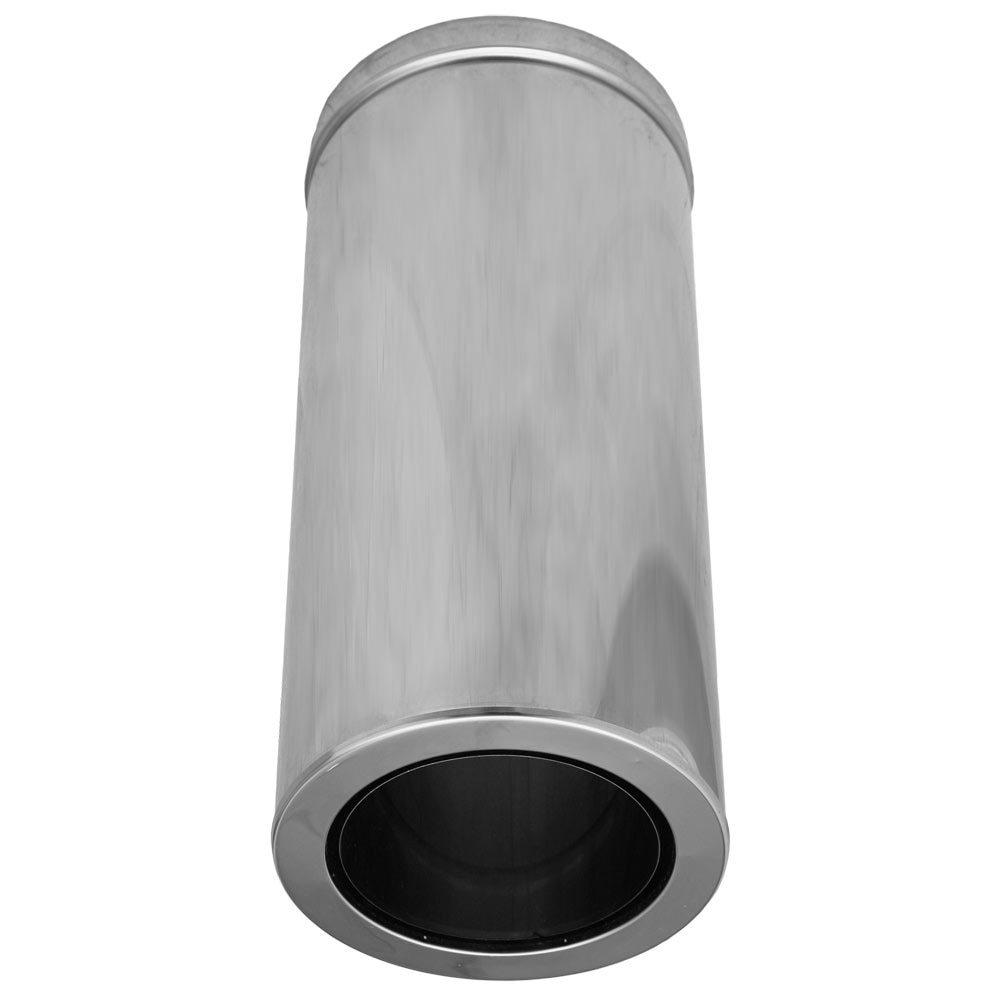 Otros Accesorios Dinak 150 Mm Le A Simple Pared Negro Vitrificado  ~ Chimeneas De Leña Leroy Merlin Precios