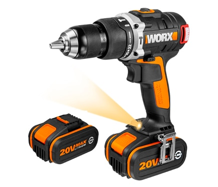 Taladro sin cable worx 20v brushless ref 81885235 leroy - Taladro sin cable ...