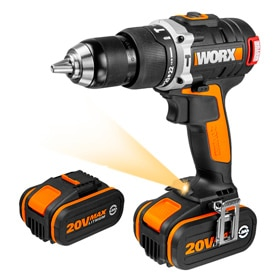 Taladro sin cable Worx 20V BRUSHLESS