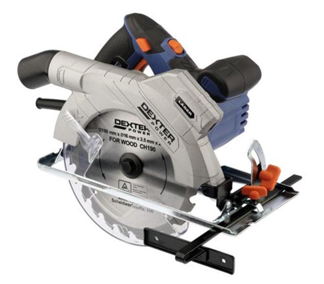 Sierra circular dexter power iv 190mm 1300w ref 17984015 - Mini sierra circular leroy merlin ...