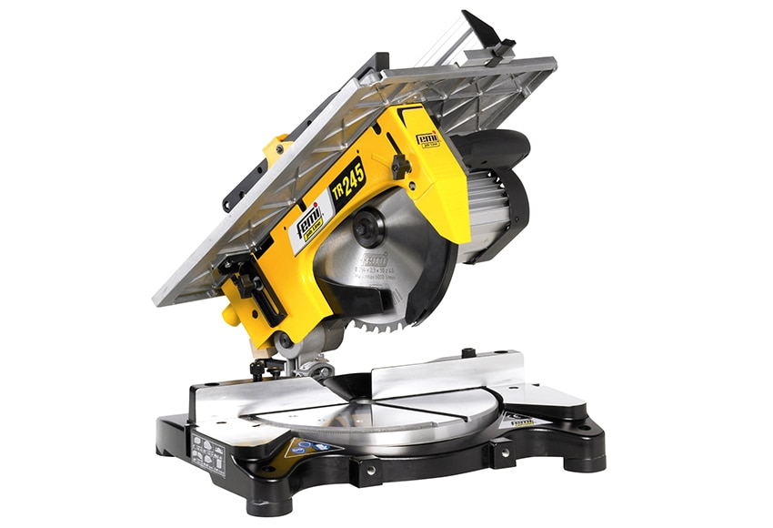 Ingletadora con mesa tr245 ref 13906046 leroy merlin for Ingletadora con mesa superior