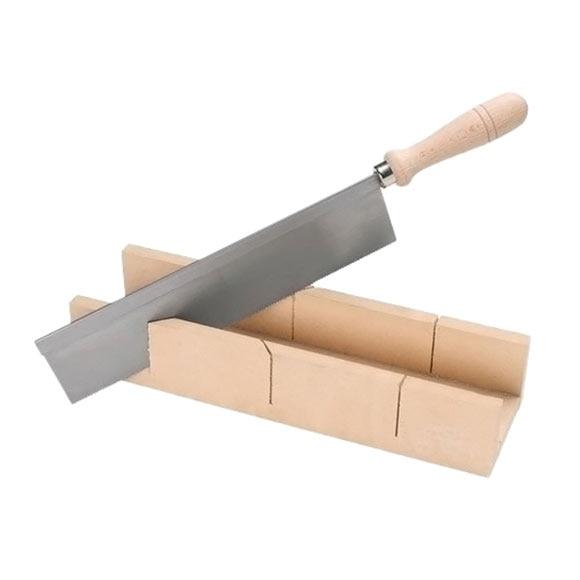 Gu a y sierra de ingletar madera ref 11831491 leroy merlin for Guia pasacables leroy merlin