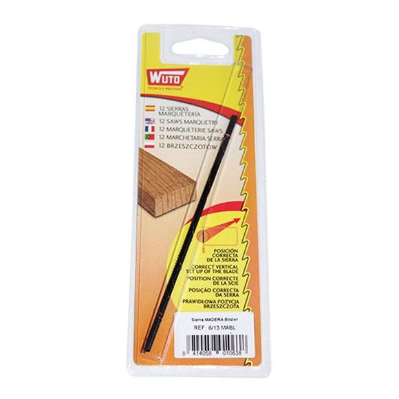 12 hojas de sierra wuto madera ref 14650930 leroy merlin - Hojas de sierra para madera ...
