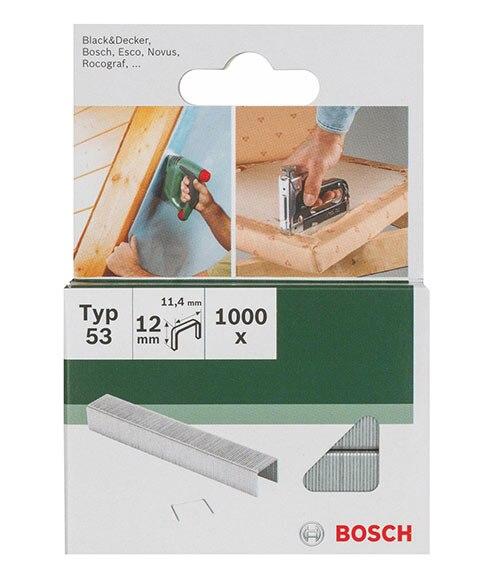 Caja de grapas bosch 11 12 mm ref 17697652 leroy merlin - Grapadoras para tapizar ...