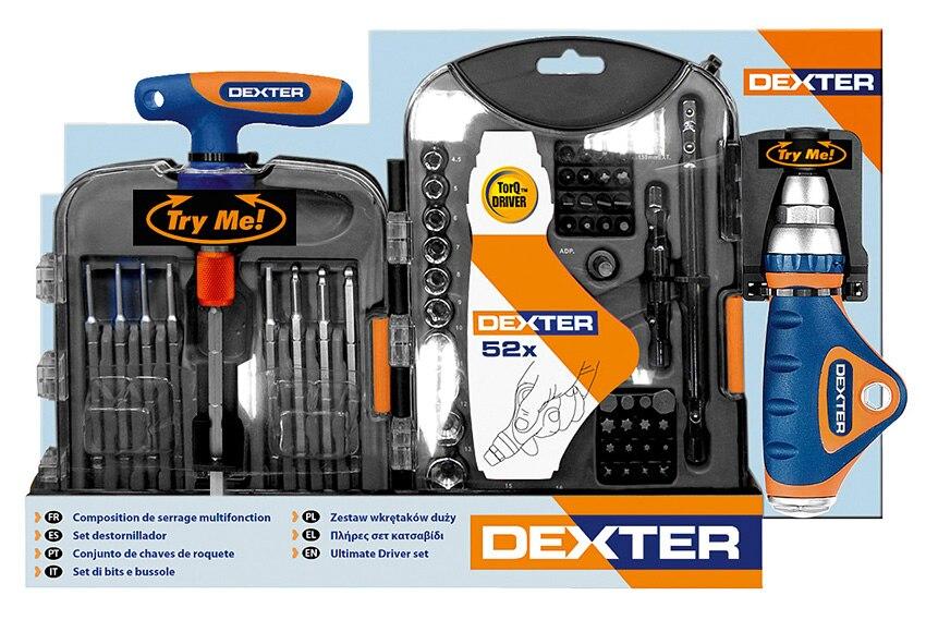 Malet n de 62 piezas de atornillado dexter ref 15250256 for Ir a leroy merlin