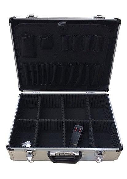 Maletín para herramientas de aluminio DEXTER Ref. 18836125 - Leroy ... 59b785342b76