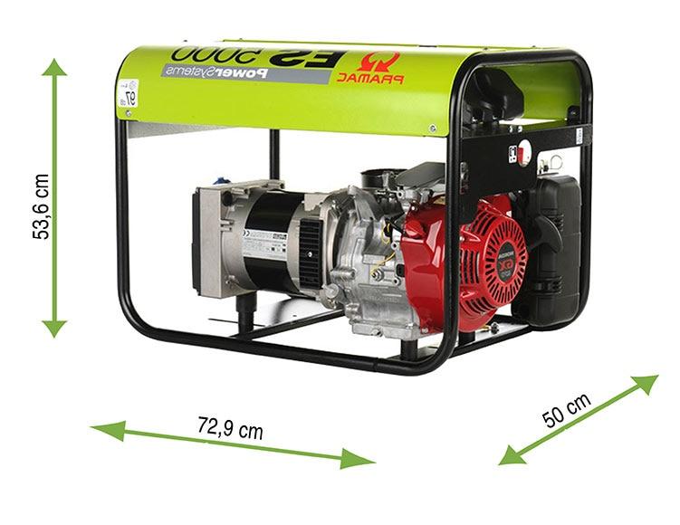 Generador gasolina pramac es5000 ref 11154115 leroy merlin for Motore tapparelle leroy merlin