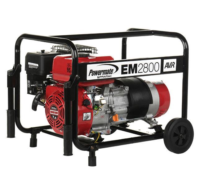 Generador gasolina powermate em2800 ref 15530676 leroy - Generador de gasolina ...