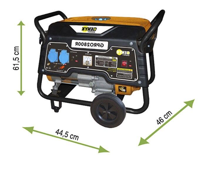 Generador gasolina genyx gpro 2800r ref 16569413 leroy - Generadores de gasolina ...