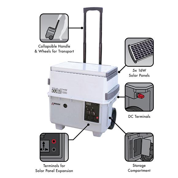 Generador solar e power 1500 ref 18381741 leroy merlin for Generatore leroy merlin