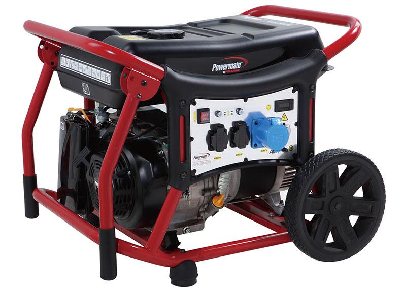 Generador gasolina powermate wx5000 ref 18395384 leroy for Leroy merlin generatore