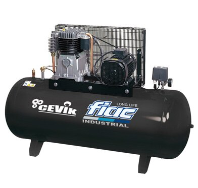 Compresor cevik fiac 300l 5 5 cv ref 10905384 leroy merlin for Compresor aire leroy merlin