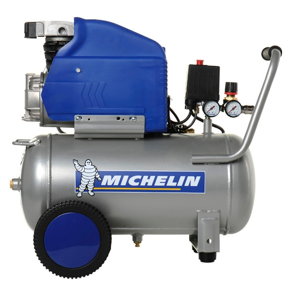Compresor michelin mb 24 ref 14019635 leroy merlin for Compresor michelin mbl6