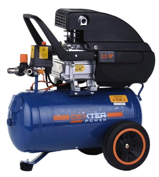 Compresor dexter dx25 ref 15441503 leroy merlin for Compresor aire leroy merlin