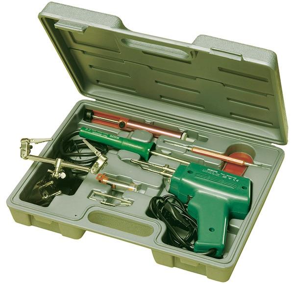 Estuche de soldar salki 8 piezas ref 11611292 leroy merlin - Pistola de estano ...