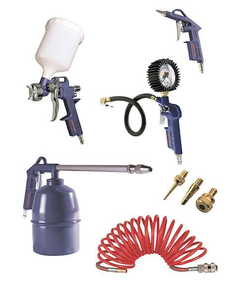 Set de herramientas neum ticas dexter 8 piezas ref for Compresor de aire bricodepot