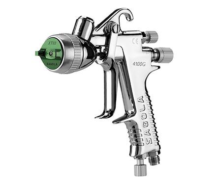 Pistola de gravedad sagola 1 4 hvlp ref 17011050 leroy for Pistola a spruzzo leroy merlin