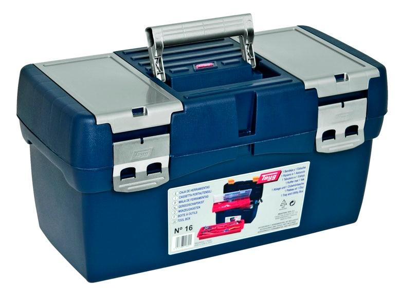 Caja de herramientas tayg 16 ref 11708466 leroy merlin - Caja con herramientas ...