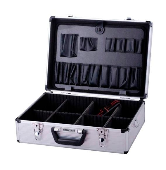 Malet n para herramientas de aluminio dexter ref 14078351 - Maletin de aluminio para herramientas ...