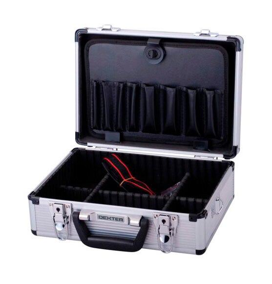 Malet n para herramientas de aluminio dexter ref 14078365 - Maletin de aluminio para herramientas ...