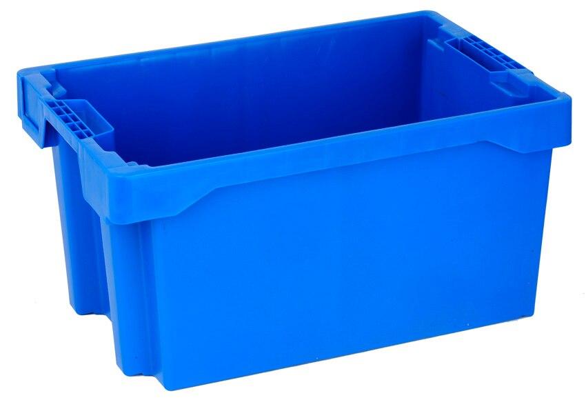 Caja de pl stico tayg euro caja 6430 ref 15199800 leroy for Cajas almacenaje leroy merlin