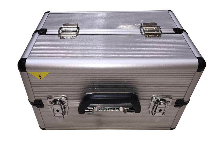 Malet n para herramientas de aluminio dexter ref 18835796 - Maletin de aluminio para herramientas ...