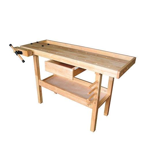 Banco de trabajo fijo ref 10796485 leroy merlin - Bancos de madera leroy merlin ...