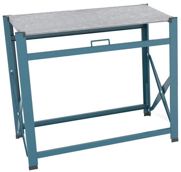 Mesa de acero textileno y vidrio zahara cuadrada ref - Mesa auxiliar leroy merlin ...