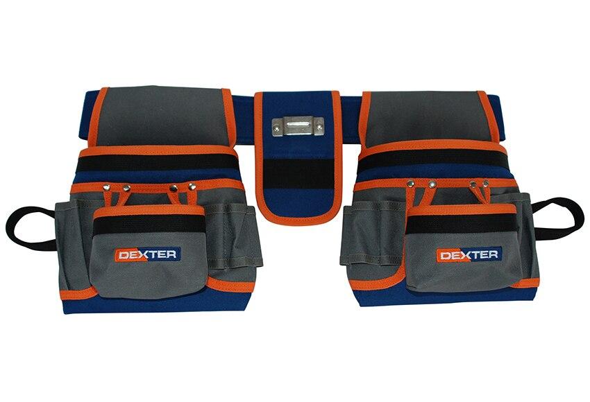 Porta herramientas 20 bolsillos DEXTER Ref. 14078281 - Leroy Merlin 677add987cea