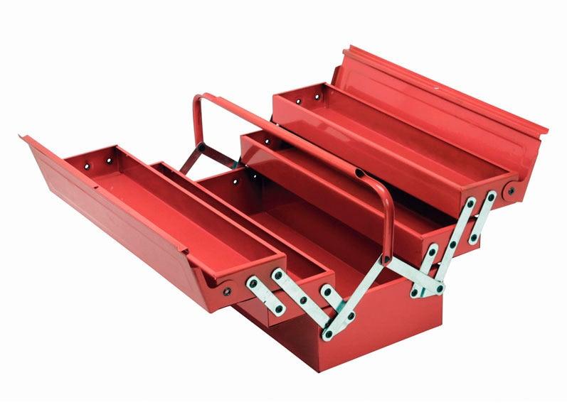 Caja met lica cogex 5 compartimentos ref 15520610 leroy - Cajas para guardar herramientas ...
