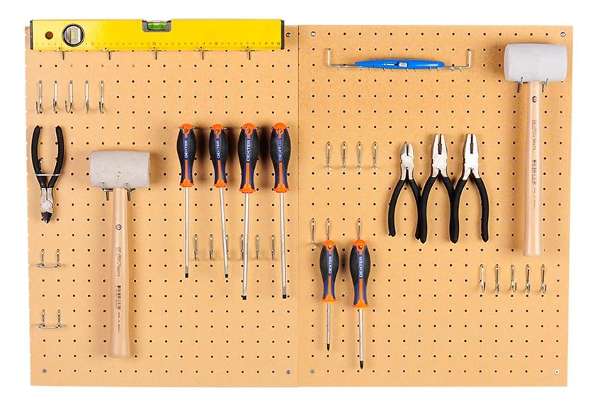 Panel perforado de 45cm de alto ref 12135165 leroy merlin - Tablero de herramientas ...