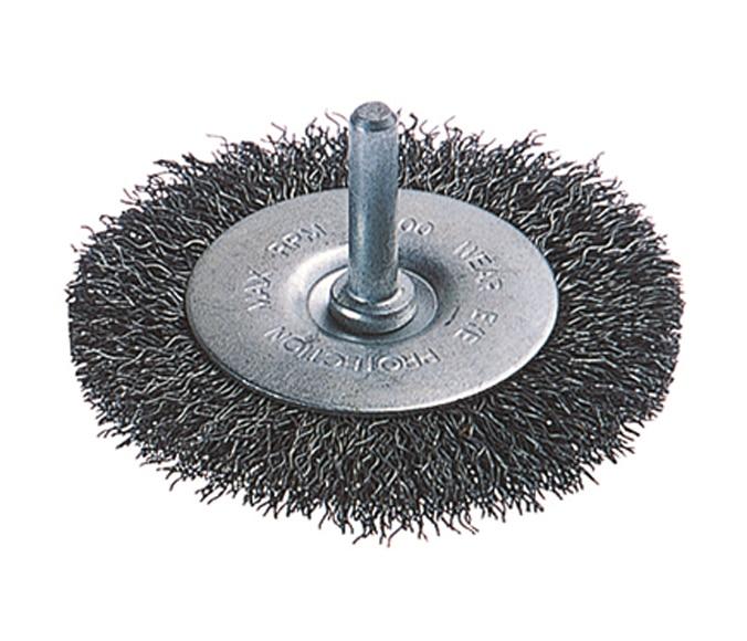 Cepillo de disco para taladro wolfcraft alambre 20 mm ref - Lijas para taladro ...