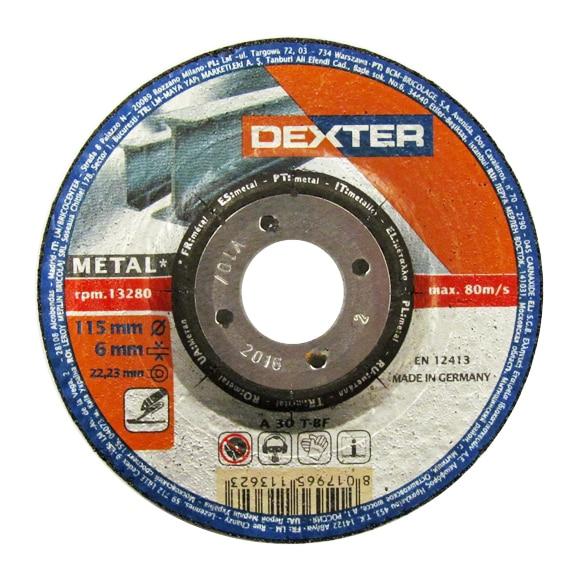 Disco para amoladora dexter disco desbaste metal 115 ref - Disco madera amoladora ...
