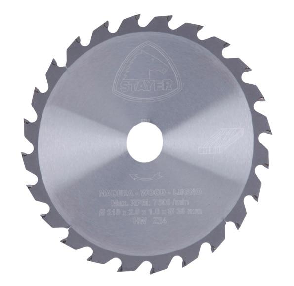 Disco para ingletadora stayer widia 210mm 24d ref - Discos para ingletadora ...