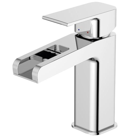 Sensea grifo de lavabo ryo cascada for Grifo en cascada