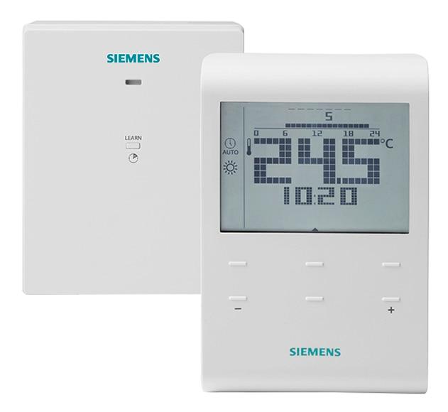 Cronotermostato siemens rde100 1 rfs ref 16790200 leroy - Termostato calefaccion siemens ...