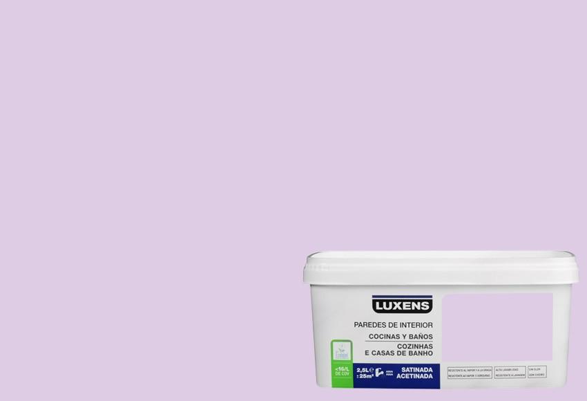 Luxens pintura de color para paredes y techos cocinas y - Pintura techo bano ...