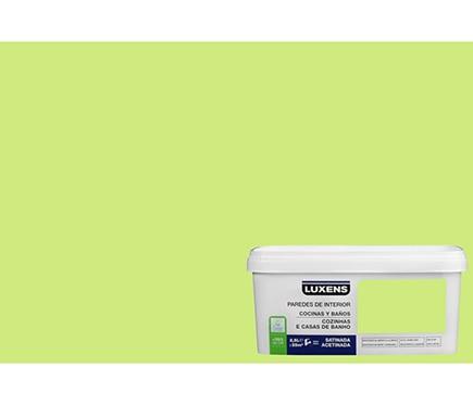 Pintura de color para paredes y techos luxens cocinas y for Techos y paredes verdes