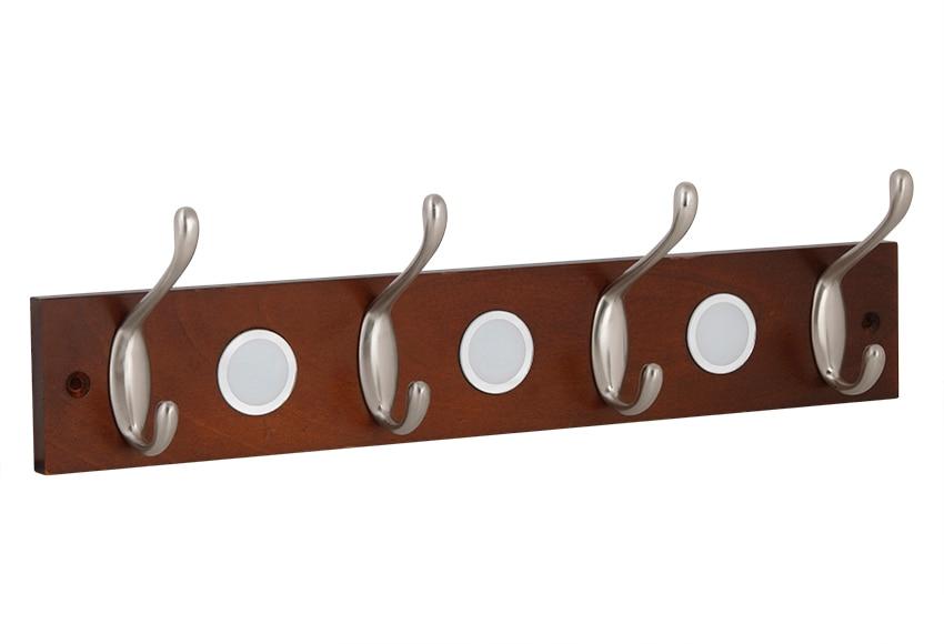 Perchero madera y metal 4 pomos ref 13413750 leroy merlin - Percheros leroy merlin ...
