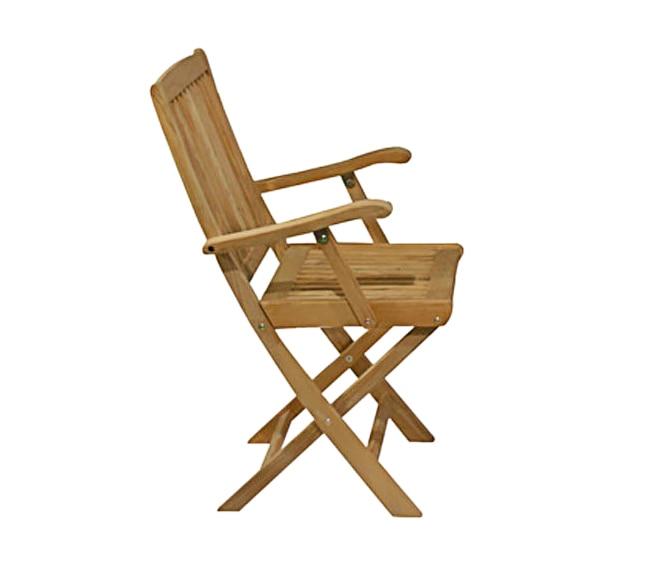 Dos sillas de madera de teca noelia ref 14056896 leroy - Sillas plegables leroy merlin ...