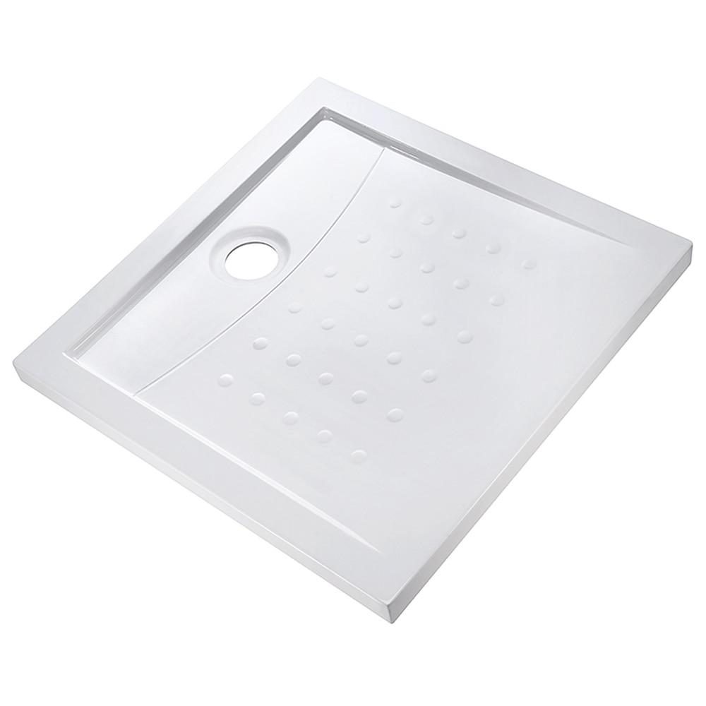 Plato de ducha acr lico corf cuadrado ref 16944130 for Plato ducha acrilico