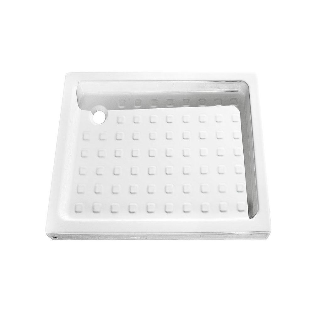 Plato de ducha cer mico nerea cuadrado ref 14711606 for Plato ducha ceramico