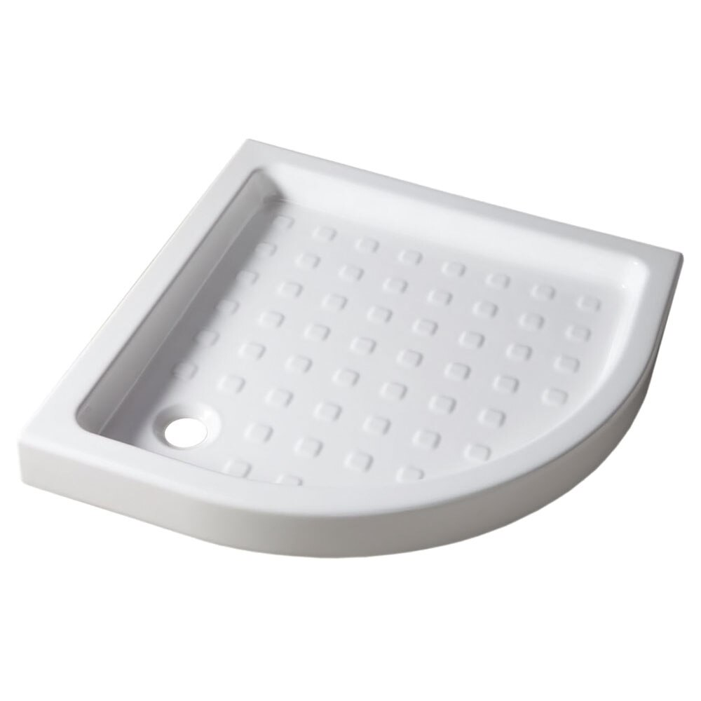 Plato de ducha cer mico nerea cuarto de c rculo ref for Plato ducha ceramico