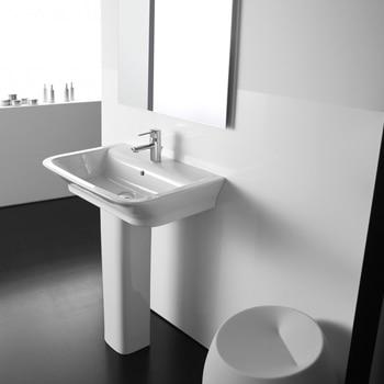 Lavabos leroy merlin for Mueble lavabo pedestal